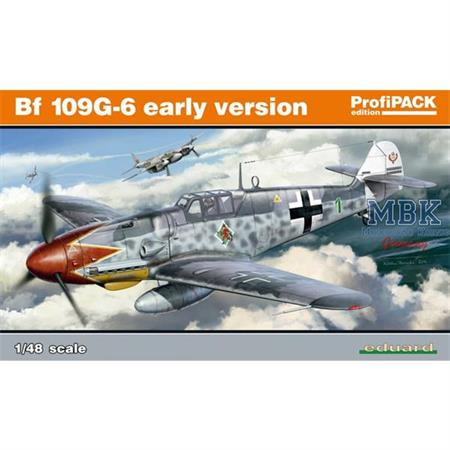 Bf 109G-6 early Version -Profi Pack-