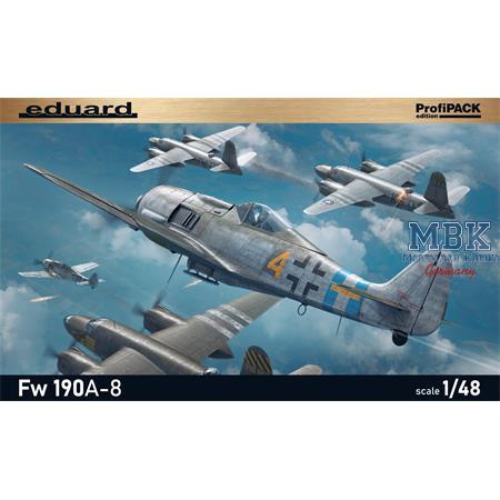Focke-Wulf 190A-8 1/48  -Profi Pack-