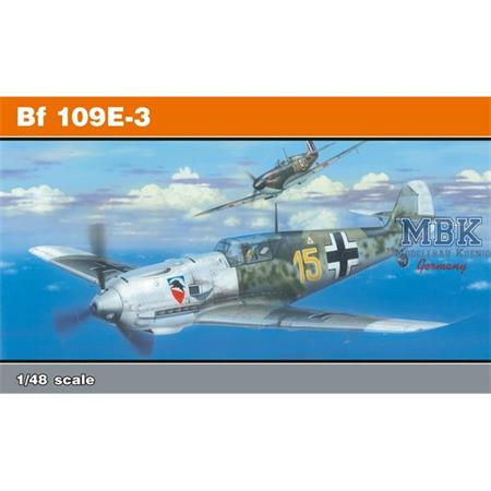 Bf 109E-3  -- Profi Pack --  1/48