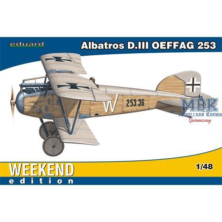 Albatros D.III OEFFAG 253 Weekend Edition