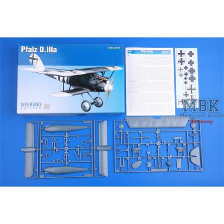Pfalz D.IIIa 1/48  --Weekend Edition--