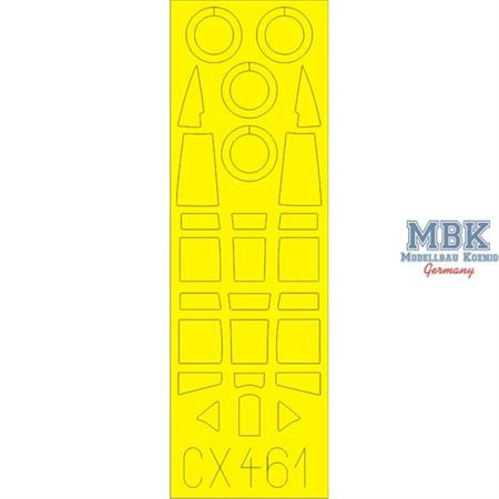 Ki-61-II Kai Tear Drop  1/72 Masking-tape