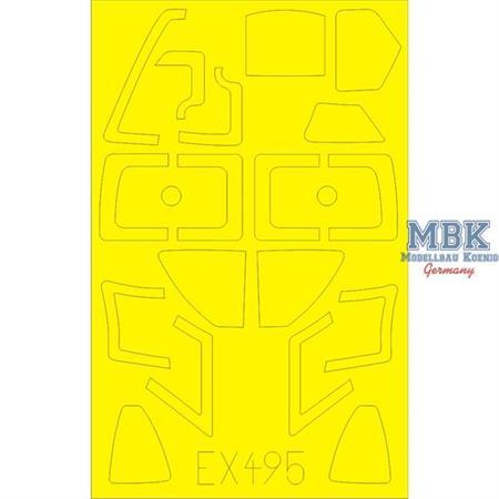 EKA-3 Skywarrior  Masking Tape  1/48