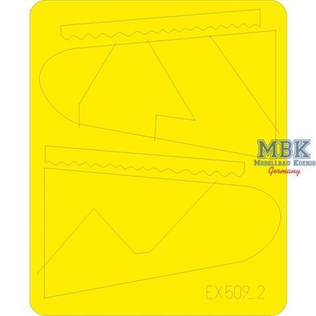 Bf 109G camo scheme MTT Werke Masking Tape  1/48