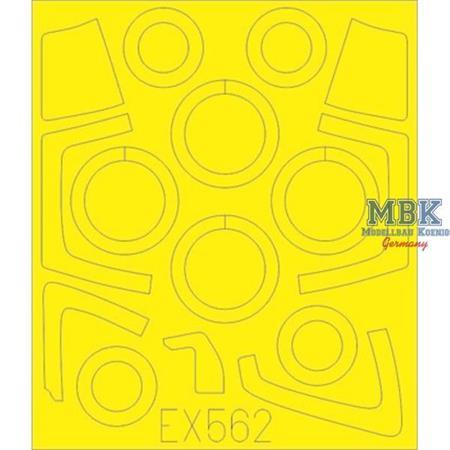 Su-35 Flanker E    Masking Tape  1/48