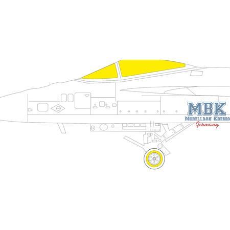 F/A-18 E 1/48  Masking tape