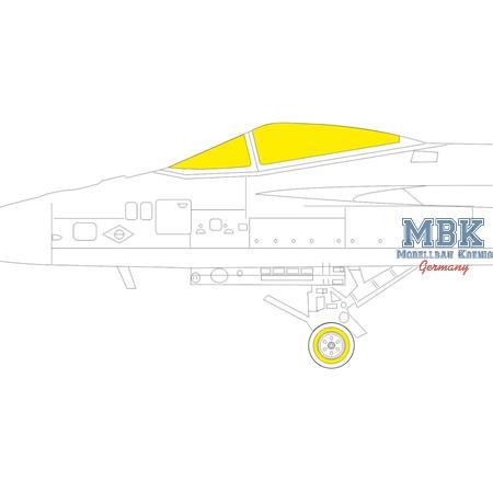 F/A-18E Tface  Masking tape