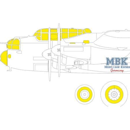 Lancaster B Mk. I  Masking tape