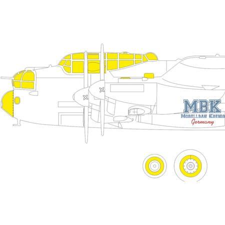 Lancaster B Mk. I TFACE  Masking tape