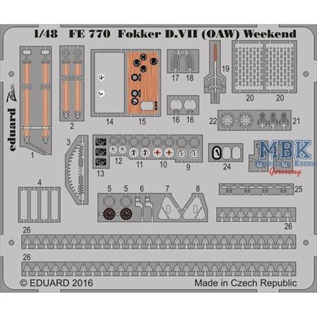 Fokker D.VII OAW Weekend