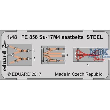 Su-17M4 setbelts STEEL  1/48