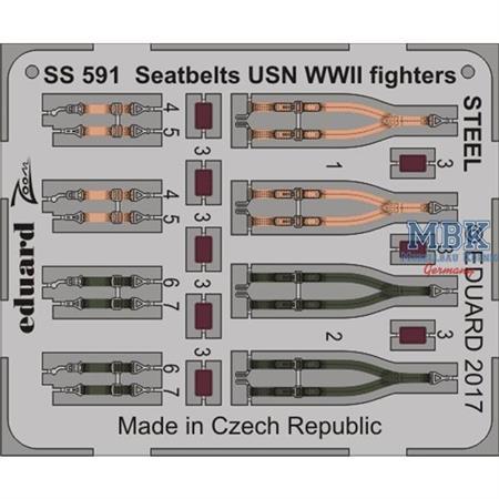 Seatbelts USN Fighters WWII STEEL