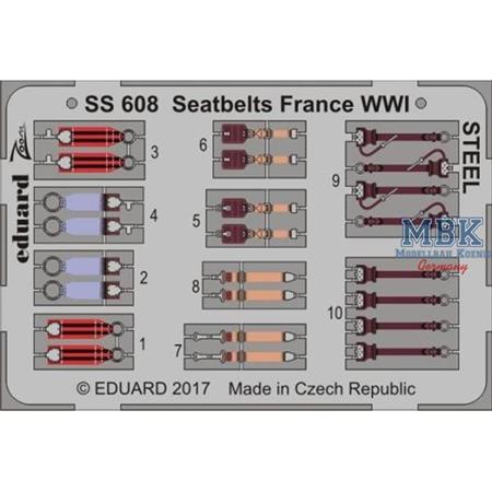 Seatbelts France WWI  1/72