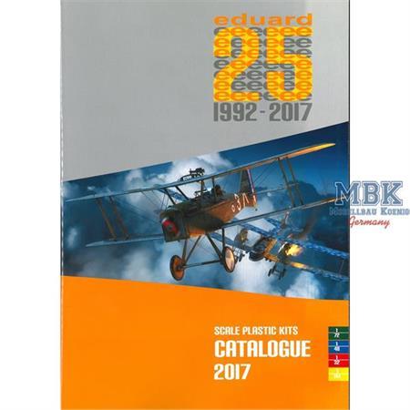 Eduard Plastik Kits Katalog 2017