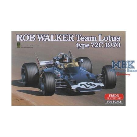 Rob Walker Team Lotus type 72C 1970 1:20