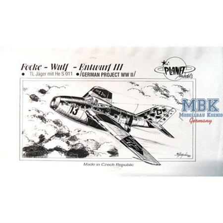 Focke Wulf Entwurf III