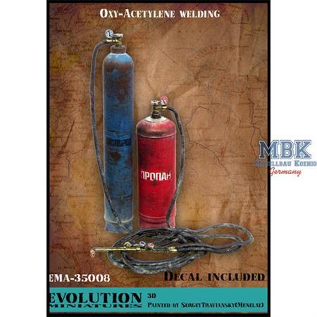 Oxy & Acetylene welding / Gas Sauerstoff Schweißen
