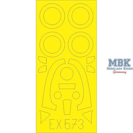 Sea Fury FB.11 Masking tape