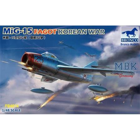 "Mig-15 Fagot ""Korean War"""