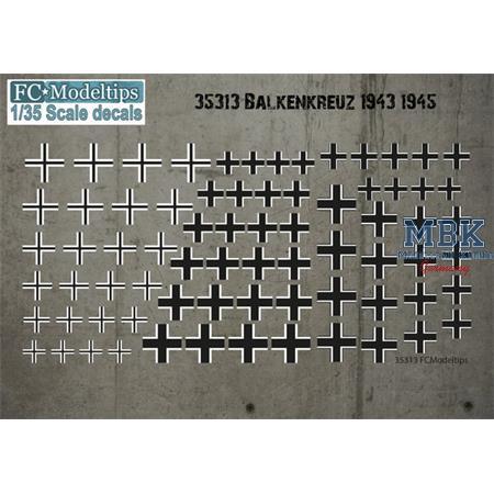 Balkenkreuze 1943-1945