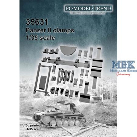 Panzer II tool clamps