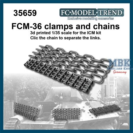 FCM-36 clamps and chains