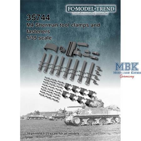 M4 Sherman, tool clamps