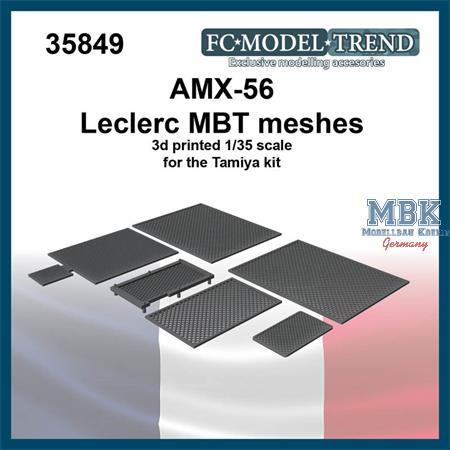 AMX-56 Leclerc, meshes