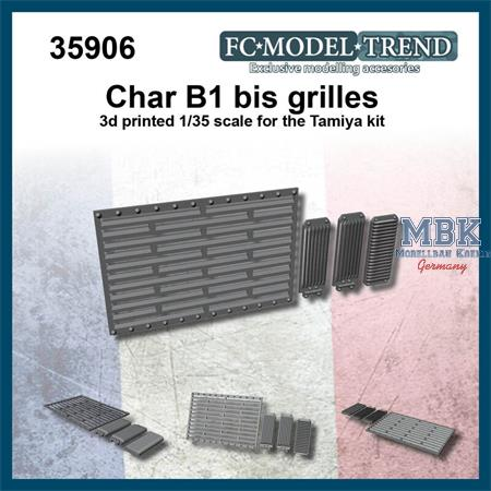 Char B1 bis grilled doors