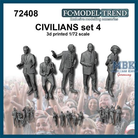 Civilians / Zivilisten Set 4 (1:72)