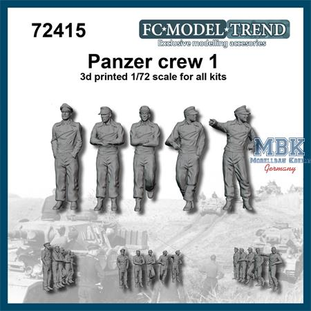 Panzer crew, set 1 (1:72)