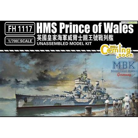 HMS Prince of Wales 1941