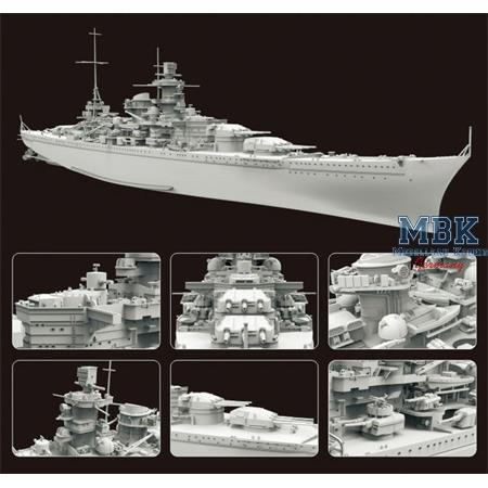 German Battleship Scharnhorst 1943 Deluxe Edition