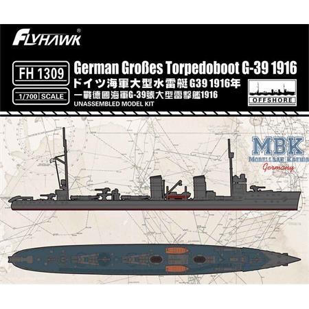 Großes Torpedoboot G-39 1916