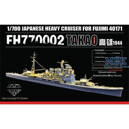 IJN Cruiser Takao PE Sheet (Fuj40171)