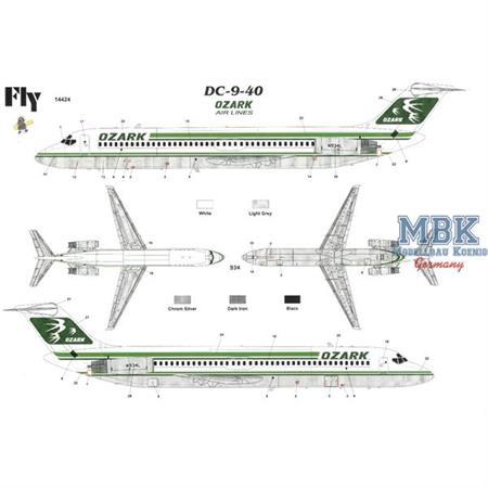 McDonnell-Douglas DC-9-40 Ozark