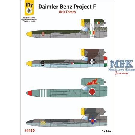 Daimler Benz Project F - Axis Forces