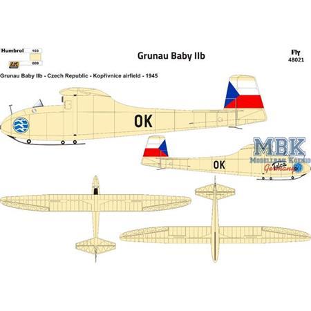 Grunau Baby IIb Czechoslovakia