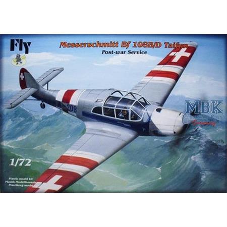 Messerschmitt Bf-108B/D Taifun Post-War Service