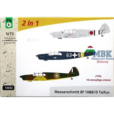 Messerschmitt Bf 108B/D Taifun 2 in 1