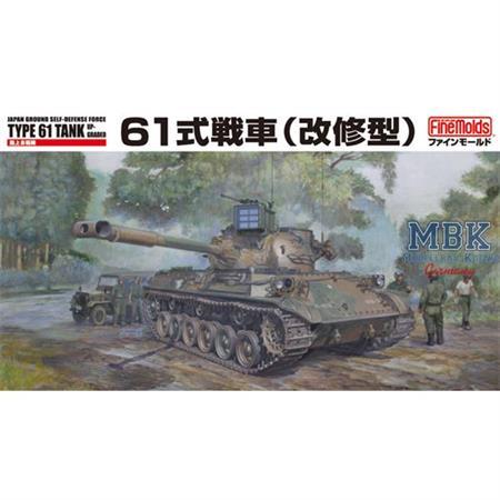 JGSDF Type 61 Tank (Upgraded)