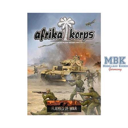 Flames Of War Rulebook: Afrika Korps Book