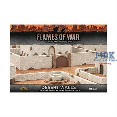 Flames Of War: Desert Walls