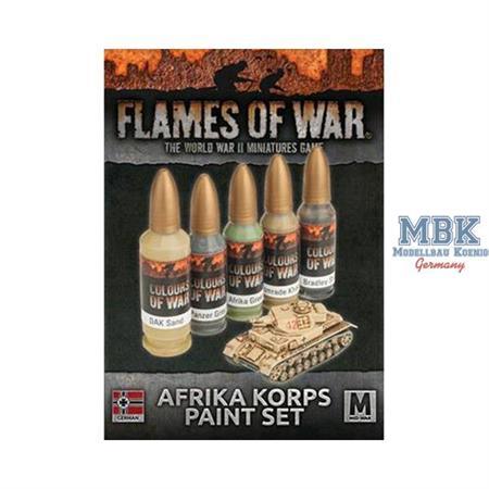 Afrika Korps Paint Set