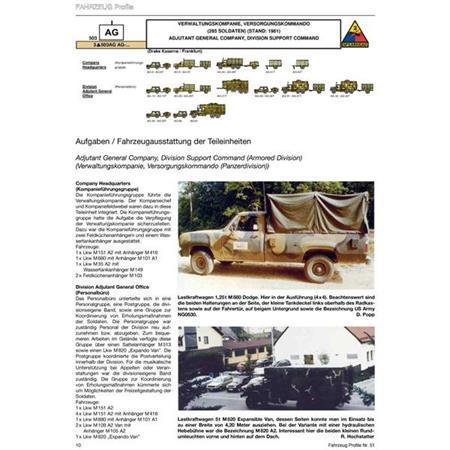 Fahrzeug Profile 51 - US ARMY in Europa Teil 3