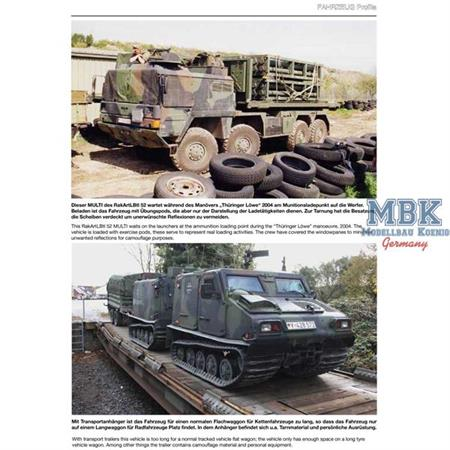 Fahrzeug Profile 69 - Moderne Artillerie der Bw