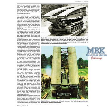Fahrzeug Profile 95 - Die Brückenleger der NVA
