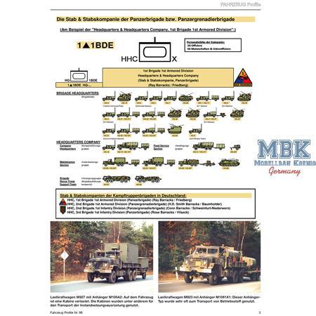 Fahrzeug Profile 98 - Einheiten der US Army Europa