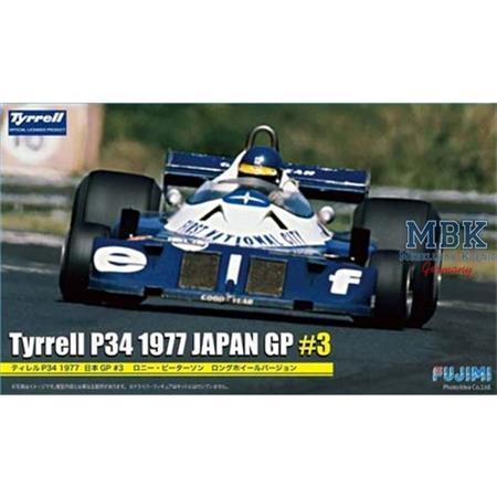 "Tyrell P34  ""1977""  Japan GP#3  1/20"