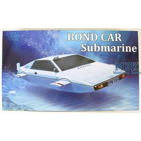 007 James Bond Car - Submarine  1/24